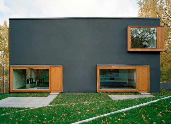 Contemporary Scandinavian Architecture – Four Rooms Make an Innovative House Plan