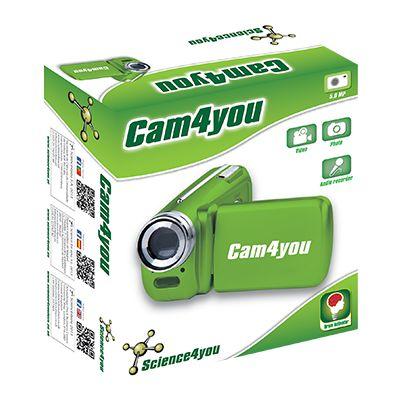 Cam4you é  uma câmara fotográfica e de vídeo direcionada especialmente para a crianças e que irá permitir registar todos os momentos importantes!