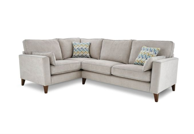 The compact design of the Copenhagen right hand facing corner sofa means that while it's roomy enough to relax on with family and friends, it will not dominate a smaller room. In fact it helps to make the most of the space.  This gorgeous corne...