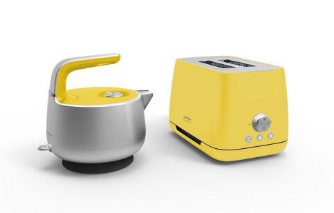 Sunbeam Kettle and Toaster, design by Mark Newson. Beautiful, contemporary kitchen appliances.
