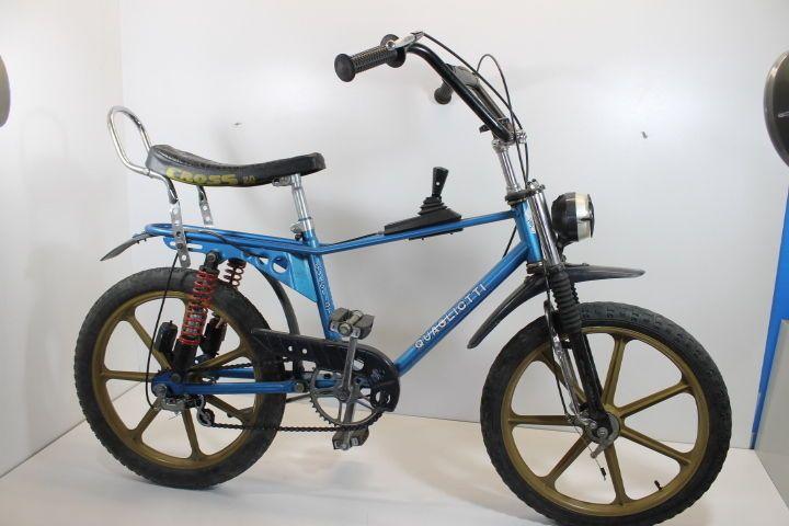 Quagliotti Torino bici cross chopper vintage 80 Saltafoss carnielli ammortizzata