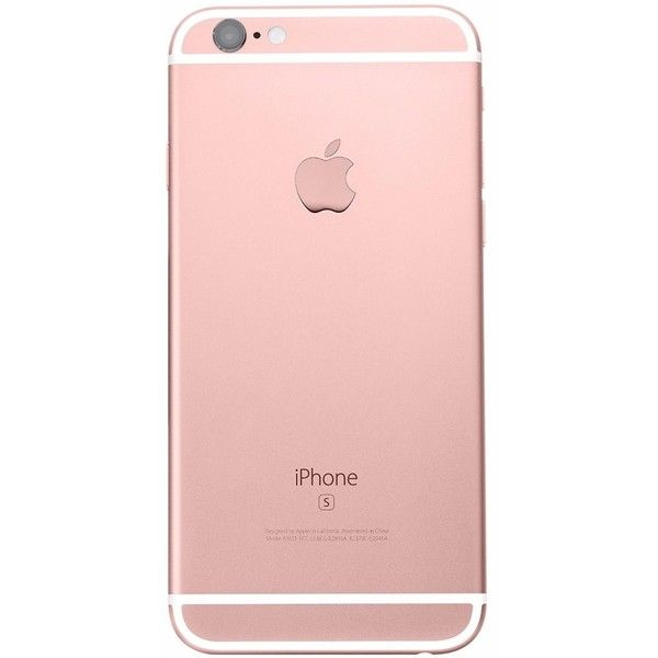 Iphone 6s Plus 64gb Oro Rosa Rose Gold Libre Fábrica Sellado ❤ liked on Polyvore featuring accessories and tech accessories
