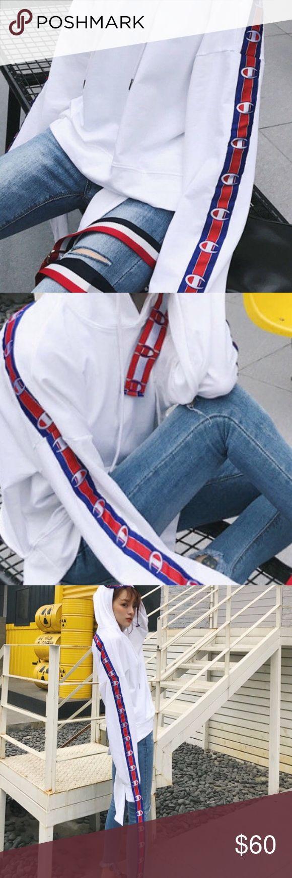 Thin hoodie Thin material new Champion inspired hoodie Sweaters Crew & Scoop Necks
