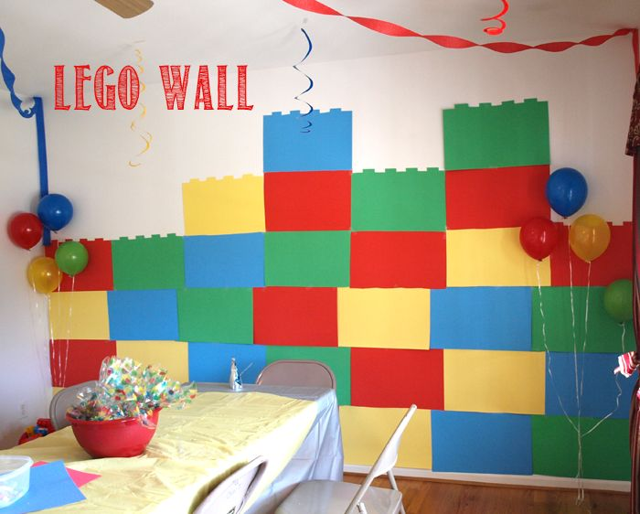 Step by Step instructions on how to make a LEGO Wall Decoration.