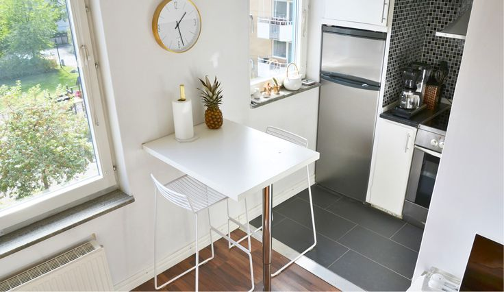 Kitchen interior modern hay chair compact living