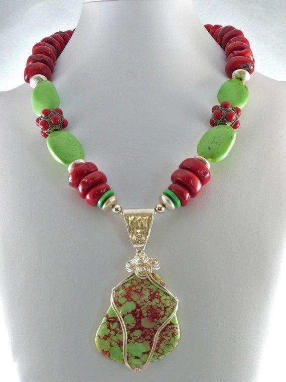 Reba - Jewelry creation by Madalynne Homme