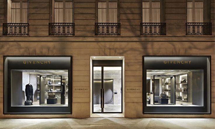 givenchy - avenue montaigne, paris - riccardo tisci + joseph dirand - photo *wallpaper