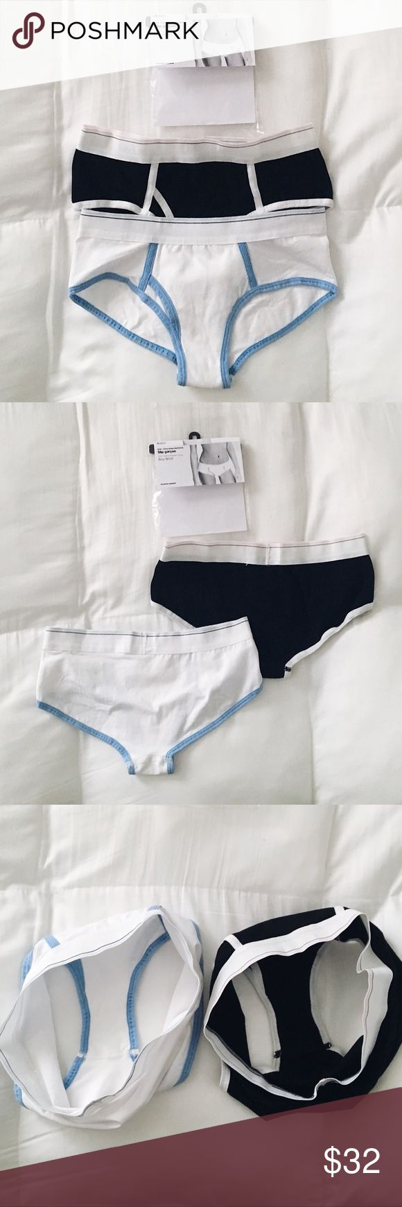 NWT American Apparel briefs NWT. Never worn just a lil wrinkly from storage. Size s, could also fit an xs. ✖️NO trades or holds 📬same/next day shipping 💙use offer button to negotiate price American Apparel Intimates & Sleepwear Panties