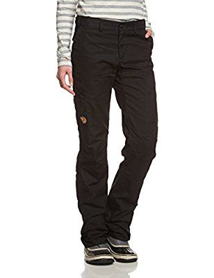 Fjällräven Damen Hose Karla Winter, Black, 44, 89428