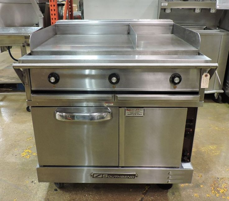 Southbend TVES/10WC Commercial Electric Convection Oven With Split Top Griddle #Southbend