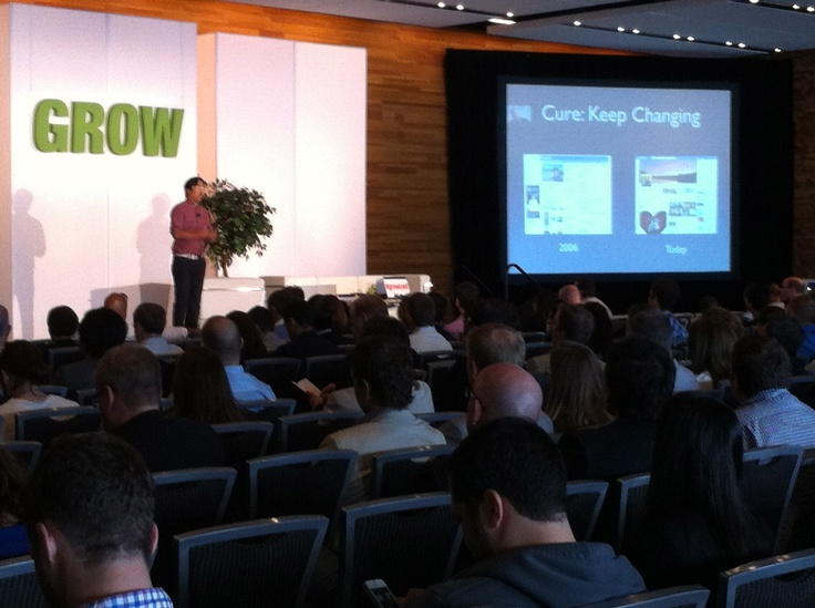 Good Design or Bad Design - Who Really Cares? Ben Huh, CEO Cheezburger speaking at Grow2012
