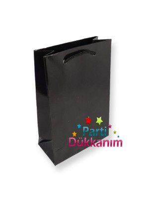 Siyah Hediye Çantası (17x24 cm)