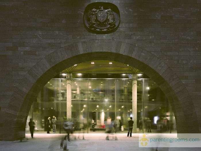 NGV International Waterwall. More at http://www.ngv.vic.gov.au/visit