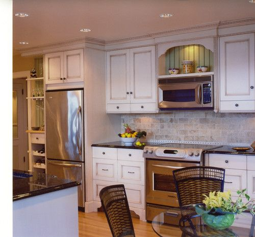 Kitchen Microwave Design Ideas ~ Over the range microwave design pictures remodel decor