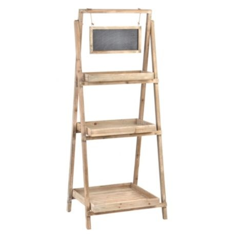 I just bought this for our guest bathroom...I'm putting mason jars with cotton balls, bath soups, etc. ~Rolled towels. So cute and it doesn't need to be an outdoor plant stand:)