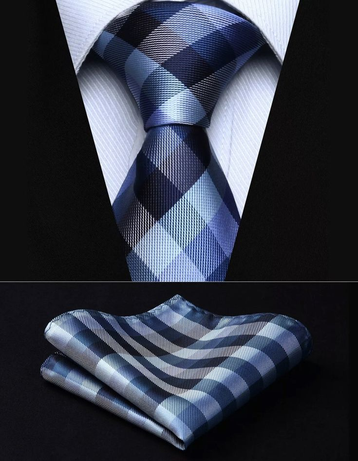 """This is really nice hand made Tie Set. The set includes a coordinating neck tie and a coordinating pocket square (handkerchief) made of 100% silk. The tie is 59"""" (150 cm) in length, and 3.4"""" (8.5 cm) in width at the largest portion. The pocket square (handkerchief) is 10"""" x 10"""" (25cm x 25cm). Makes a wonderful gift item! 🎁 **Please note, this item may require up to three weeks to arrive. Please take shipping time into consideration prior to placing your order. ** This item is available for… Marcelo Mello, Style Gentleman, Tie And Pocket Square, Pocket Squares, Tie Styles, Latest Mens Fashion, Tie Set, Wedding Suits, Party Wedding"""