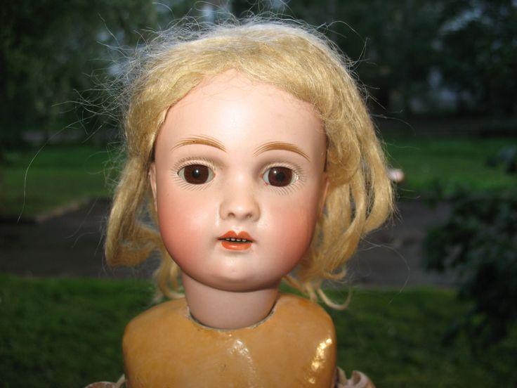Антикварная русская кукла около 1900 г. Шрайер и Фингергут (ШиФ) #449