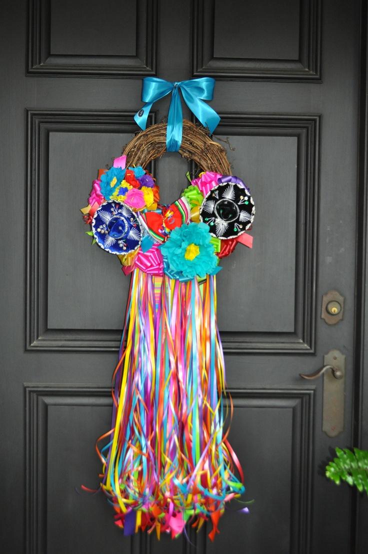 """""""Fiesta on the Rio Grande"""" wreath"""