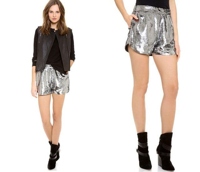 14 Pretty Party Shorts to Wear NYE 2014!