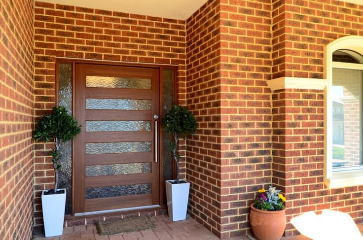 Pivot door, obscure glass, Perth