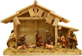 We had a wooden nativity when I was a kid, it's a strong symbol of Christmas for me even though I'm not religious.