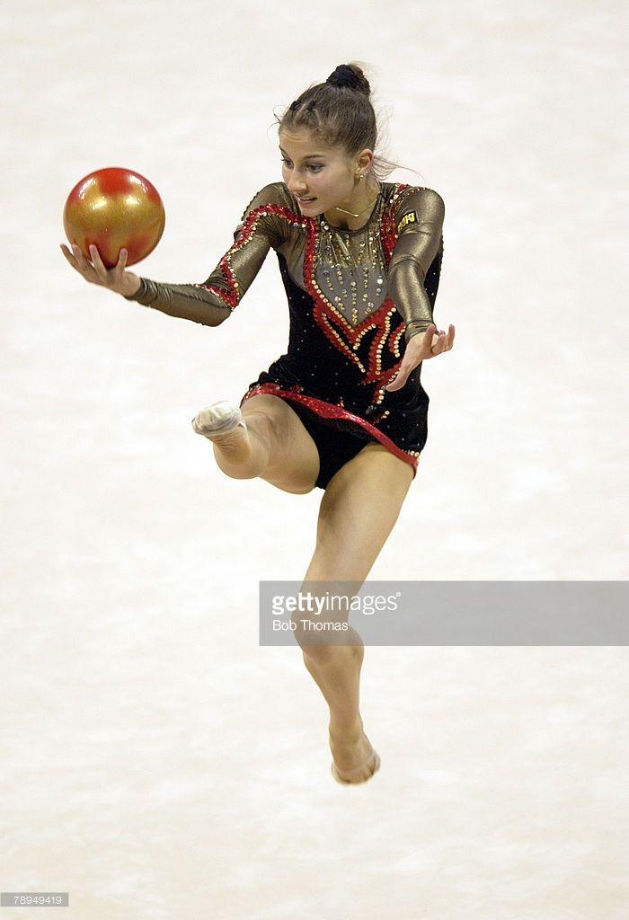 Sport, Olympic Games, Athens, Greece, 26th August 2004, Rhythmic Gymnastics, Simona Peycheva of Bulgaria