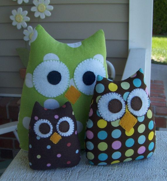 The 25+ best Stuffed owl ideas on Pinterest | Felt owl ...