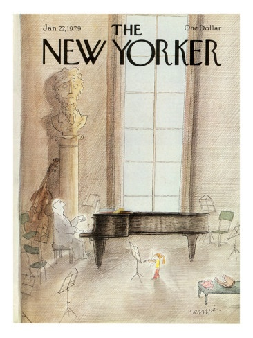 The New Yorker Cover - January 22, 1979 by Sempe