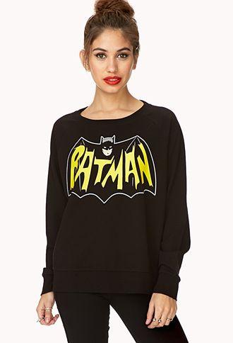 Batman Lover Sweatshirt | FOREVER21 - 2000073166