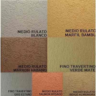 Plastic block revestimiento texturado tarquini revear for Pintura texturada para exterior