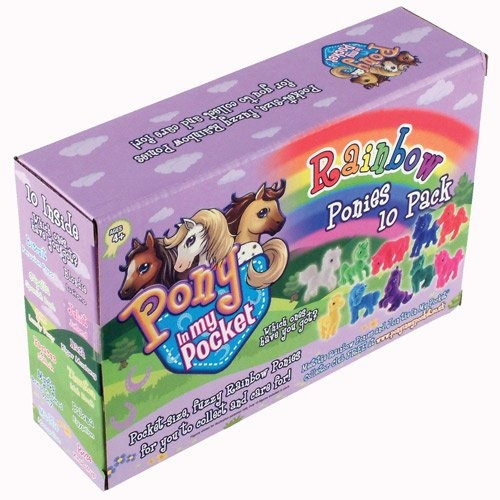 "Pony in my Pocket - ""Rainbow Ponies"" Value 10 Pack (U.K. and Worldwide)"