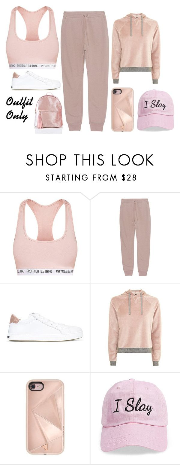 """""""Pink pink pink"""" by dakota4-1 ❤ liked on Polyvore featuring T By Alexander Wang, Dsquared2, Topshop, Rebecca Minkoff and Steve Madden"""