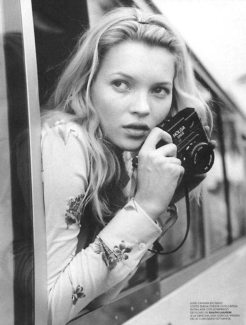 Kate Moss - by Bruce Weber, 1996
