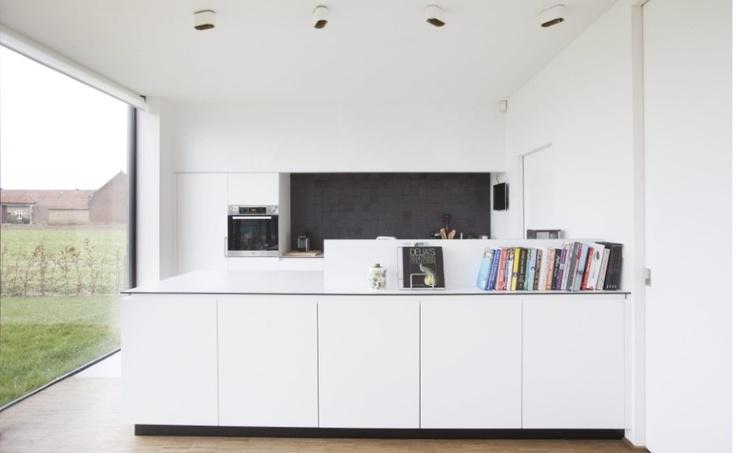 Achtergrond Witte Keuken : De keuken, gemaakt in volkern met een ...