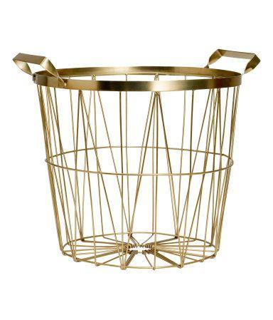 Metal basket | H&M HOME