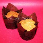 Muffin de Vainilla relleno de Nutella