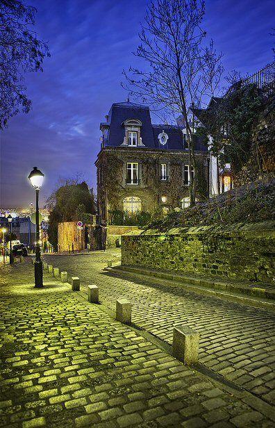 rue des Saules - Paris 18e