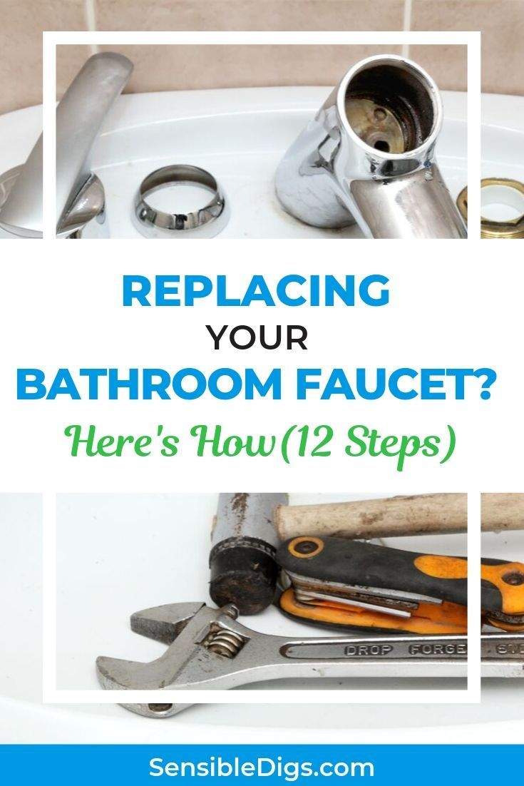 Want To Give Your Bathroom A Makeover But Nervous About Diying The Plumbing Don T Be Our Guide Bathroom Faucets Replace Bathroom Faucet Replace Bathroom Sink [ 1102 x 735 Pixel ]