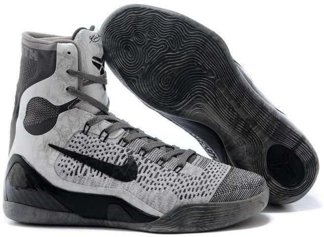 buy nike kobe 9 elite high p base grey black online for sale cheap to buy from reliable nike kobe 9