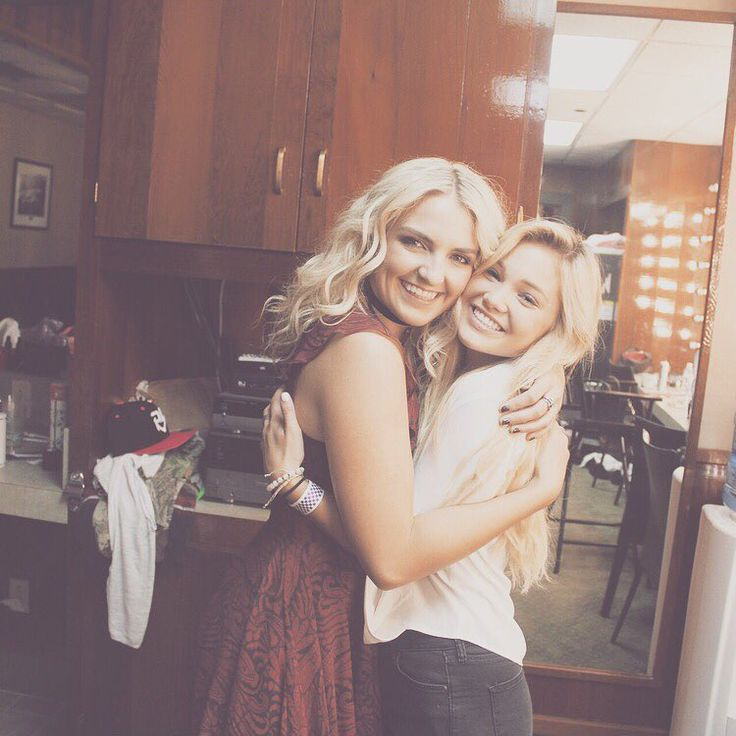 Rydel Lynch and Olivia Holt