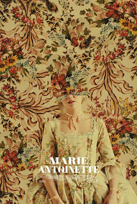 Marie Antoinette alternative movie poster by TheArtOfAdamJuresko