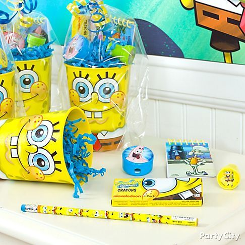 spongebob party ideas for toddlers | tissue paper shop spongebob party supplies spongebob party ideas guide