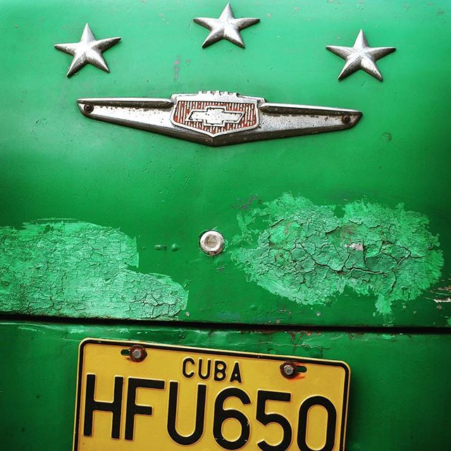 This car was my ride for a few days in Havana. During that time it broke down only twice!    #havana #green #vihreä #car #cars #cuba #kuuba #travelblogger #instatraveling #matkablogi #trip #photooftheday #travelling #instapassport #matka #blogi #colors #mytravelgram #travelgram #old #picoftheday #vacation #visiting #loma #lomalla #caribbean #fun #instago #trip