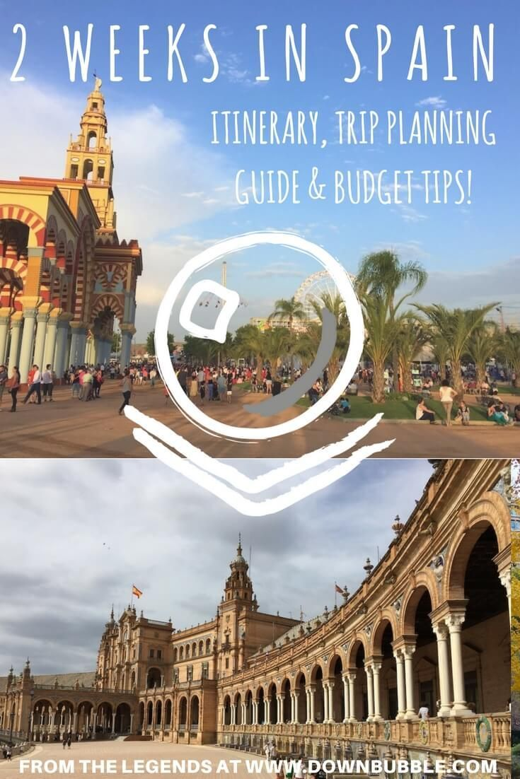 2 Weeks In Spain Itinerary Plan Your Trip To Spain Right With Our Suggested Itinerary From Barcelona Through Madri Spain Itinerary Spain Travel Europe Travel