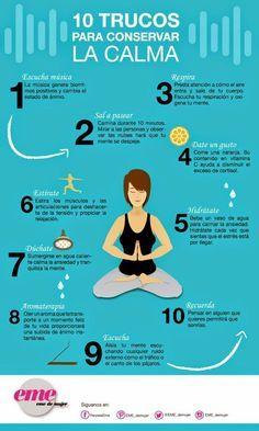 ¡No dejes que el estrés se apodere de ti! Apunta estos consejos para conseguirlo y ser feliz :)