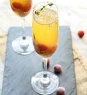 Grape-Cognac Cocktail