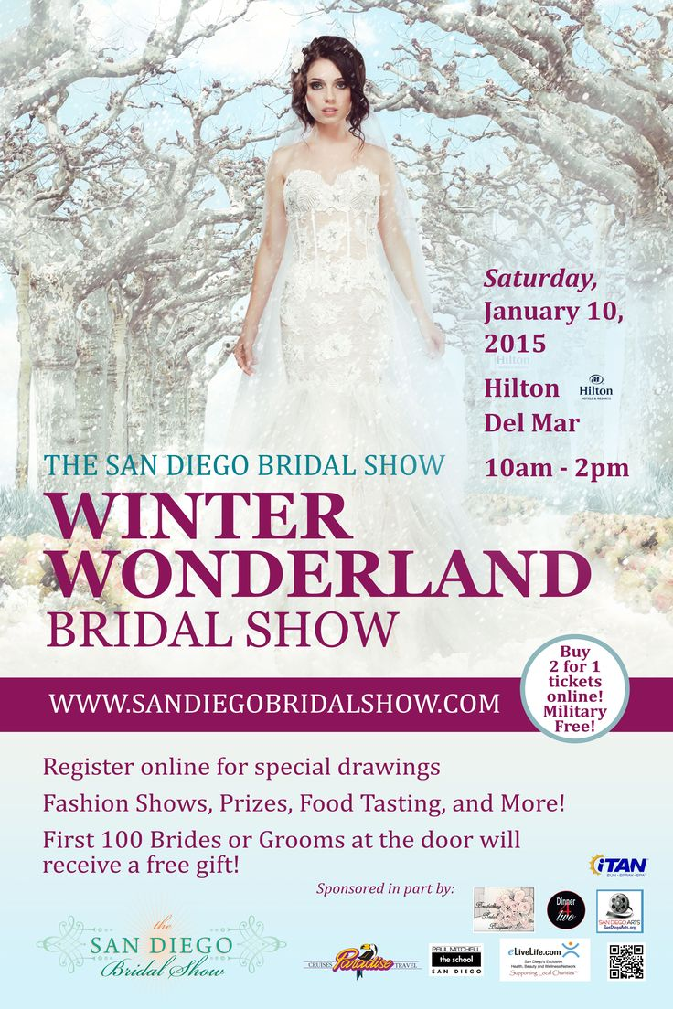 54 best The San Diego Bridal Show\'s Events images on Pinterest | San ...