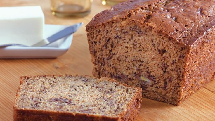 Delight your guests with this nutty bread made using banana, chocolate and Gold Medal® all-purpose flour.