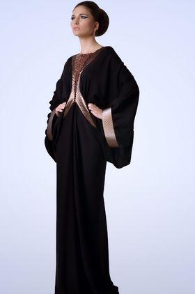 arabic fashion and make up, black, elbise, kıyafet