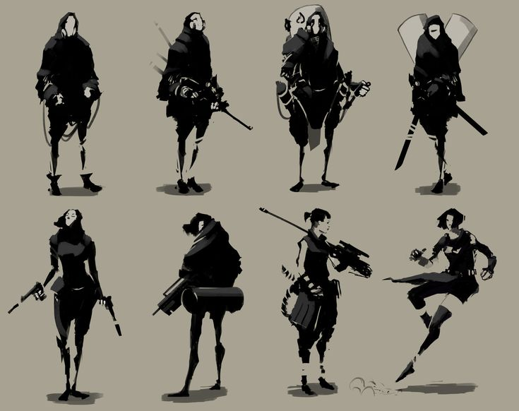 Character Design Silhouette Tutorial : Best sketch concept arts images on pinterest